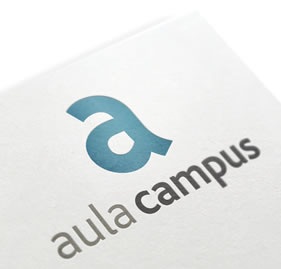 Aula Campus. Identidad visual corporativa